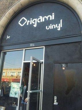Origami vinyl 1